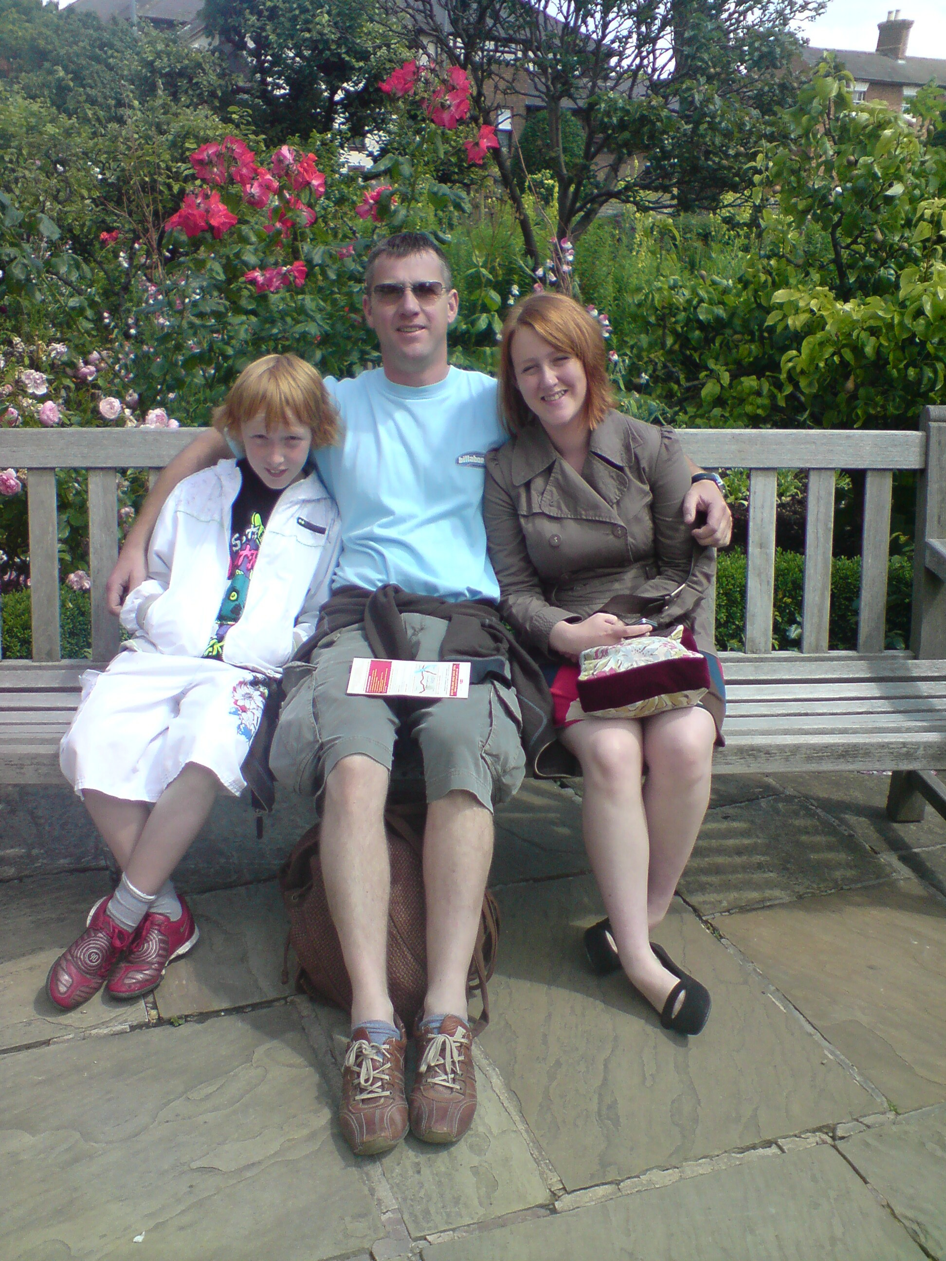 Another fine family photo - with Wyn this time