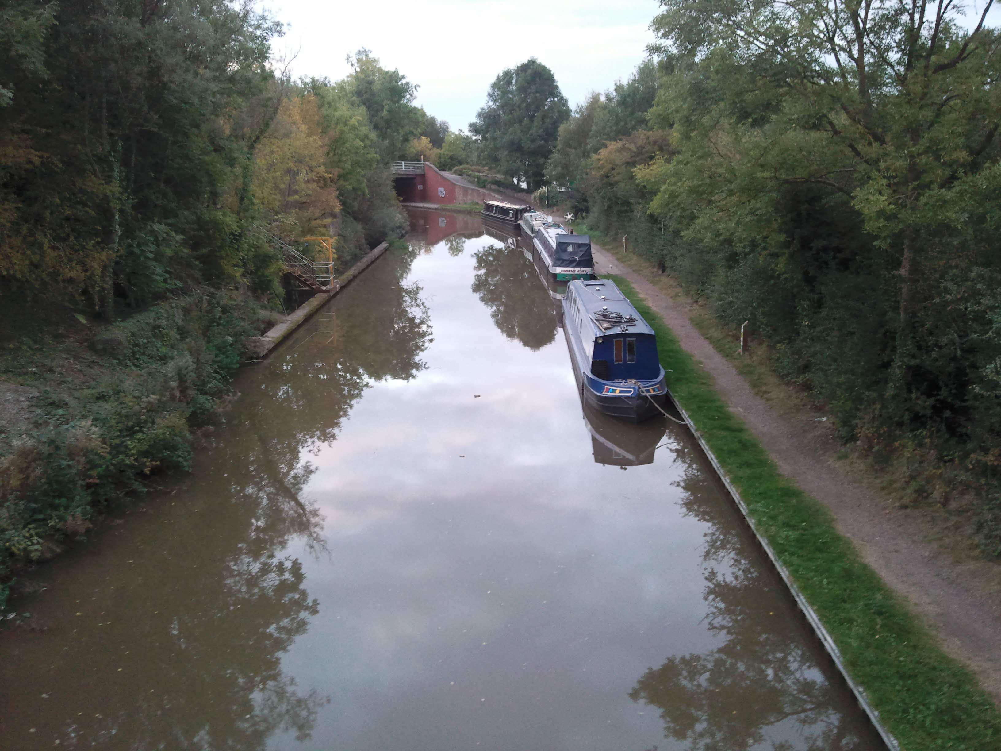 The moorings at Bridge 29 - secure and welcoming...