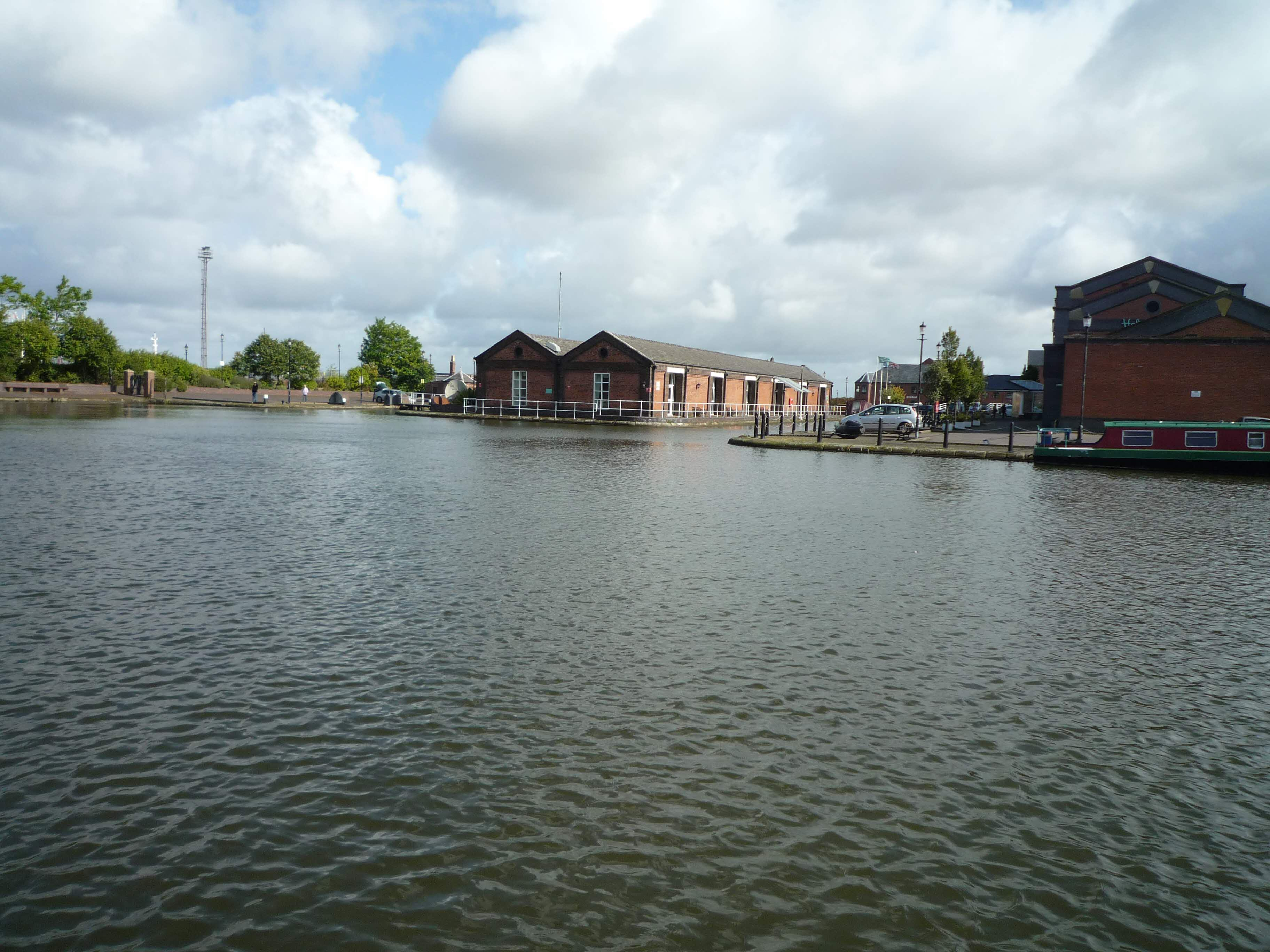 Part of the basin at Ellesmere Port