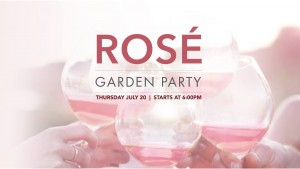 Rosé Garden Party On The Patio with Vanessa Trouble