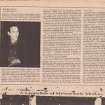 Peter Murphy B Side Magazine August 1988 Part 5