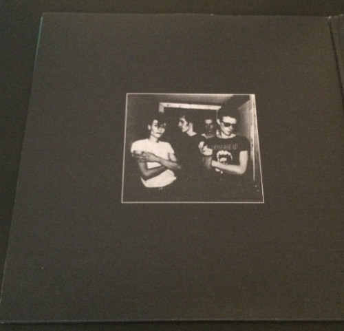 """Bauhaus In The Flat Field + 4AD UK 12"""" 2008 Inner Cover Side 1"""