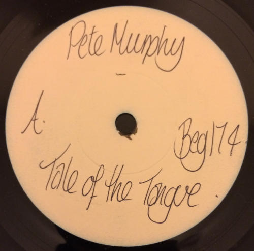 """Peter Murphy Tale Of The Tongue UK 7"""" 1986 A Label"""
