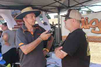 Scott catches up with Geelong based Indigo FM member and BMF Volunteer Steve Buddha McIntyre at BMF 2016