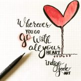 Go with all your heart art