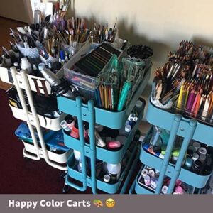 Ikea Raskog Art Supply Carts