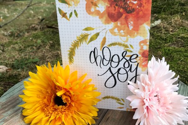 Choose Joy Planner