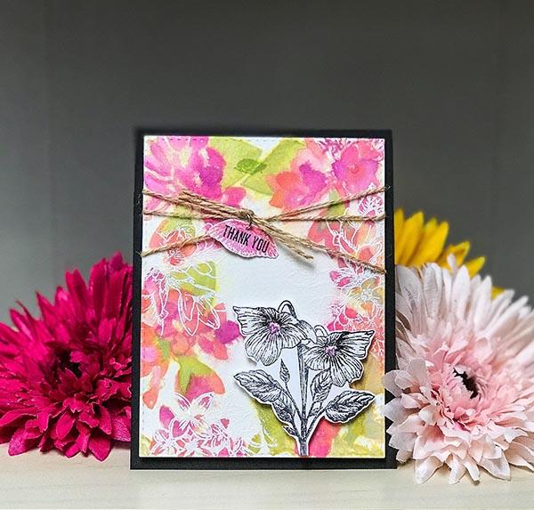 Gina K Designs Thank You Card