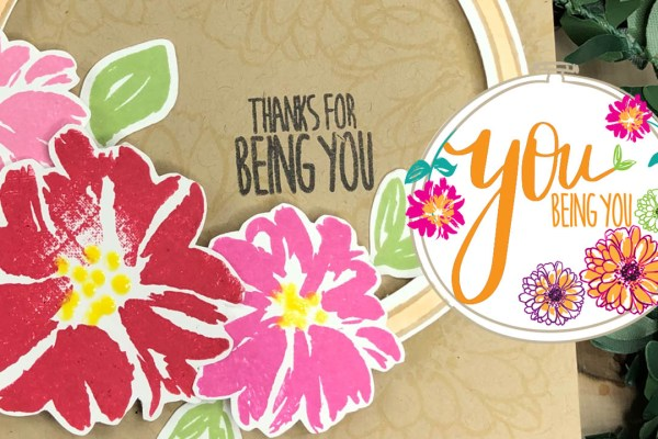 The You Being You Stamp Set with Gina K Designs
