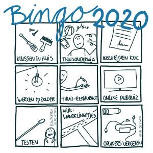 Ervaringen uitwisselen met beeld een visuele bingokaart