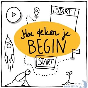 Hoe teken je Beginnen of starten zeven ideeen om te tekenen