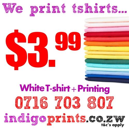 IndigoPrints T-Shirts Flyer 1