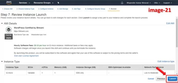 How to create instance on AWS to install WordPress Website in Hindi?