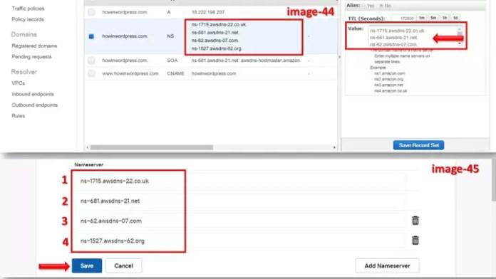 AWS WordPress Website ke liye Nameserver kaise badlate hai?