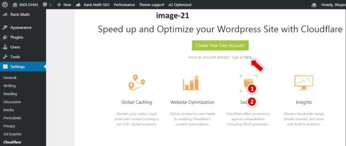 Cloudflare Free SSL Certificate for WordPress Blog in Hindi