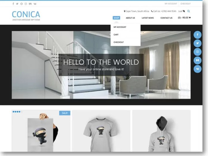 Conica WordPress Theme