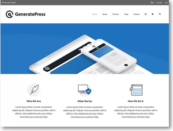 Best Free and Light weight Theme for WordPress