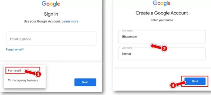 How to Sign UP For New Gmail Account on Mobile in Hindi?