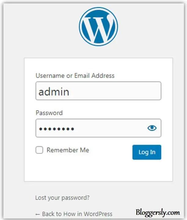 How to Change Default Username in WordPress in Hindi
