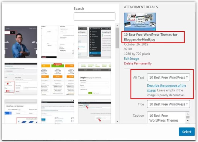Image Optimization for SEO Friendly Blog Post