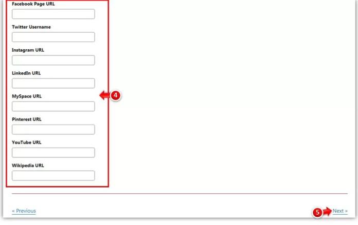 Add Social Profiles in Yoast SEO