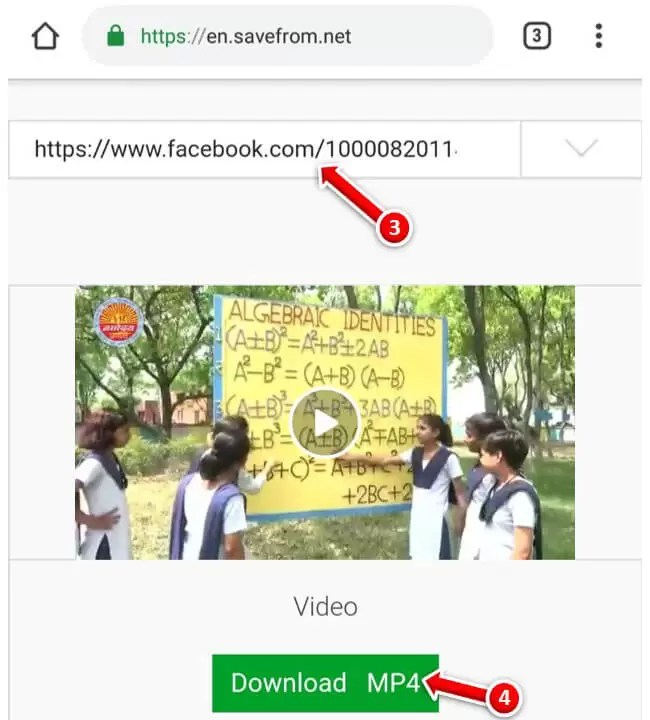 Facebook Video Mobile me Save Kaise Kare?