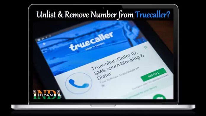 How to Unlist & Remove Number From TrueCaller in Hindi