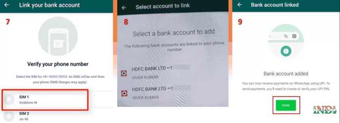 How to activate whatsapp payment feature in Hindi?