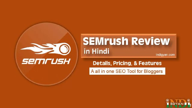 SEMrush Review in Hindi 2021