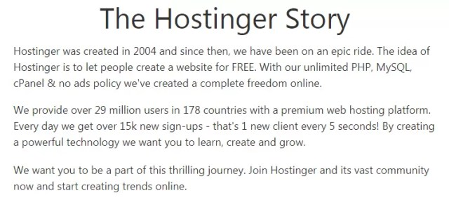 What is Hostinger in Hindi