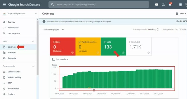 How to Check Site indexing in Google Search Console in Hindi