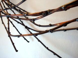 willow wreath detail