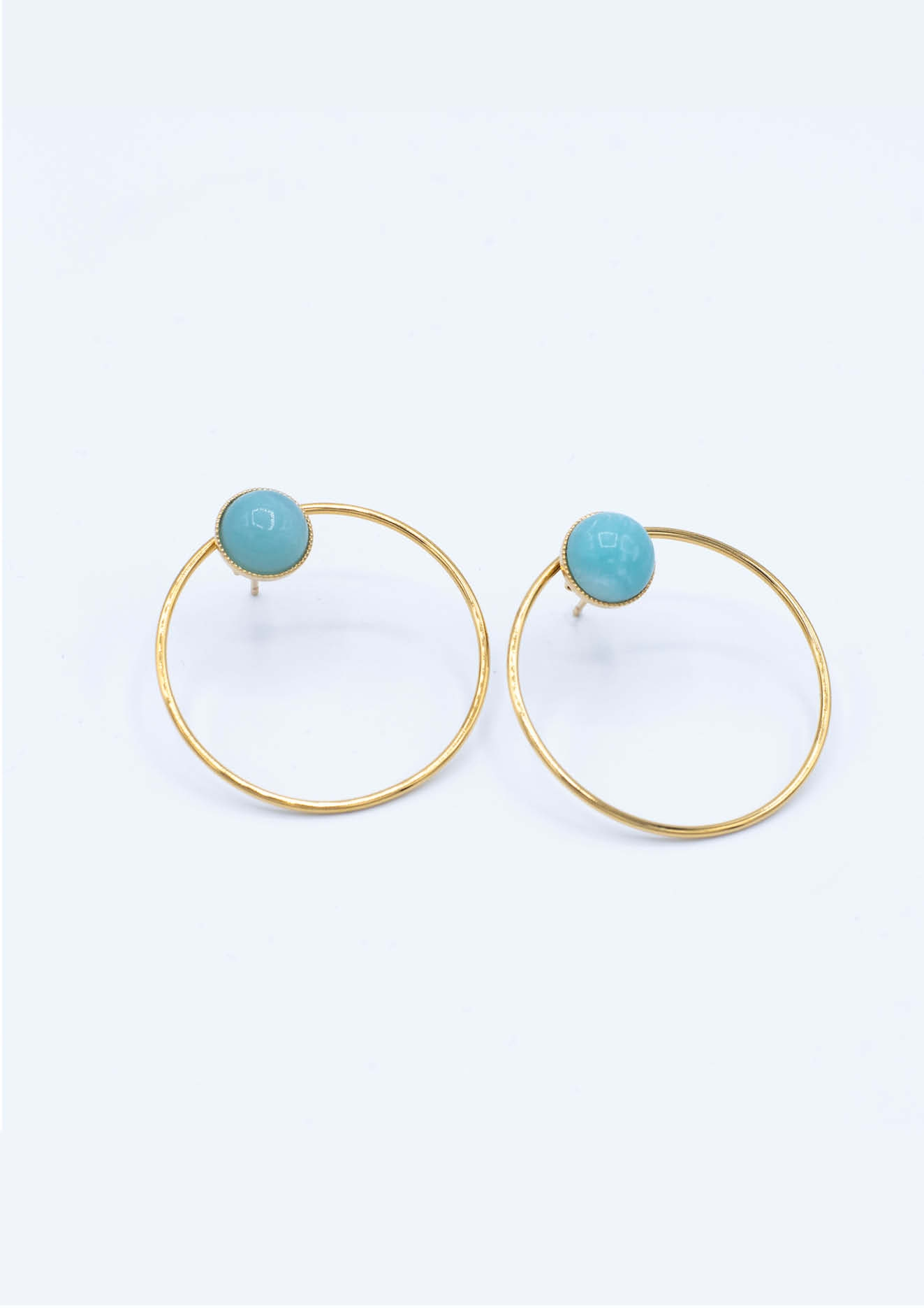 Boucles composées LUCE AMAZONITE + JULIE