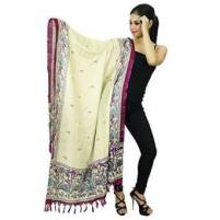 Indian Hijab-Schal-Art Silk Dupatta