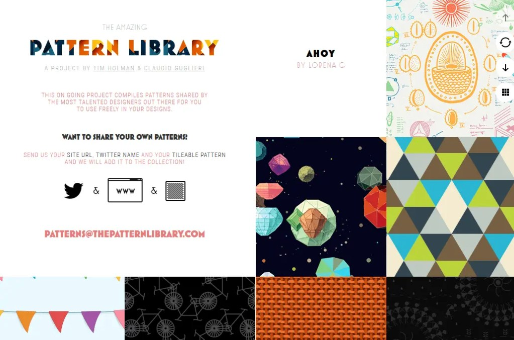 Free Pattern Images From The Pattern Library