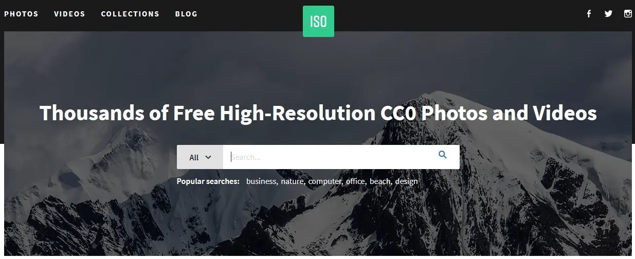 Free Stock Images For Bloggers Using The Iso Website