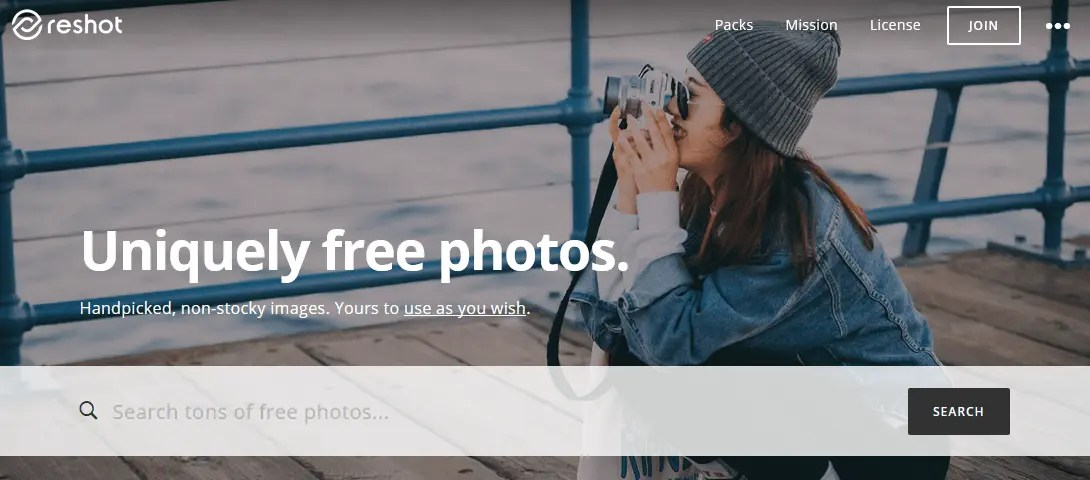 Free Stock Photography Images Using The Reshot Website