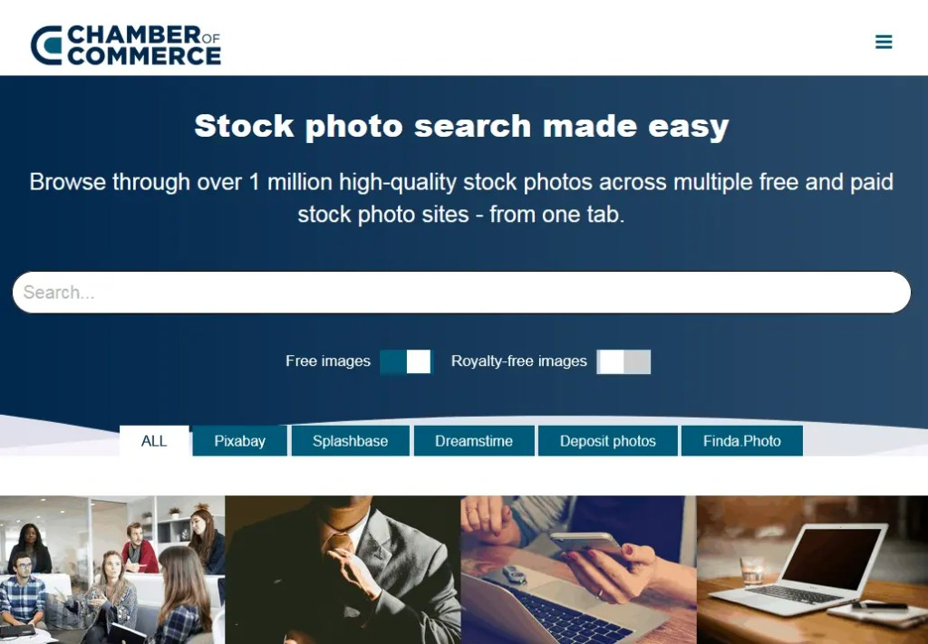 Free Stock Photos Source Using The Chamber Of Commerce Search