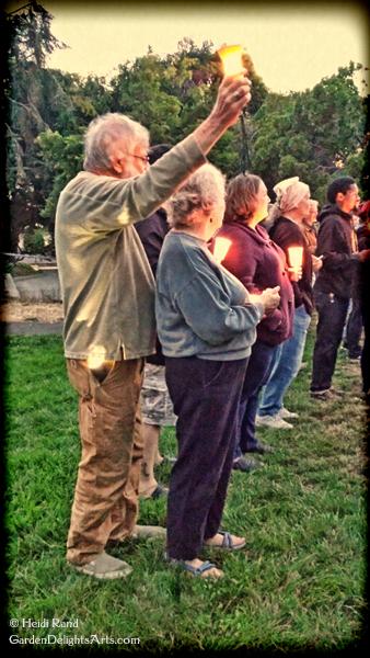 Charlottesville candellight circle