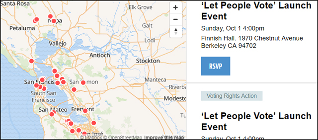 ACLU People Power voting launch