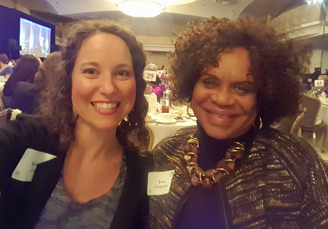 Ultimate Women's Luncheon and Issues Conference. IEB member Kristen Law and Joan Carpenter, Contra Costa Board of Supervisors