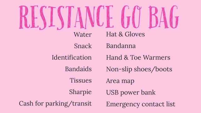 Resistance go bag