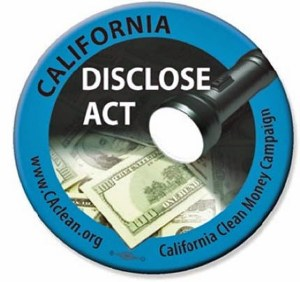 California social media DISCLOSE Act