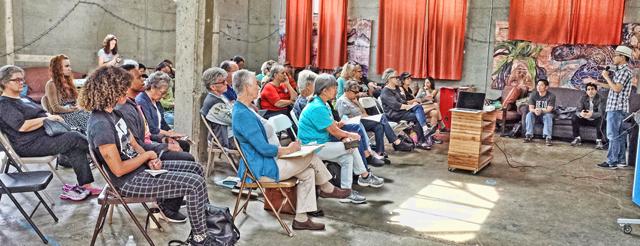 September 2018 All Members Meeting, photo by Heidi Rand