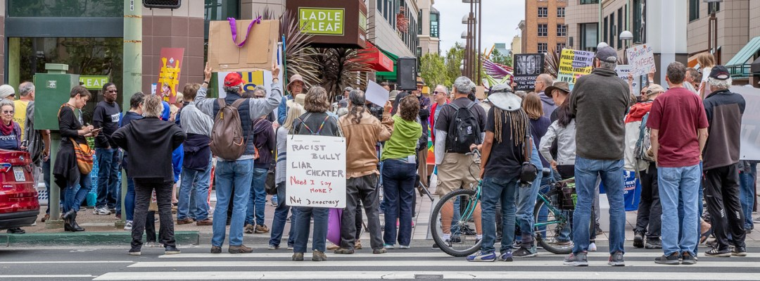 #Impeachtrump protest June 15 2019, Photo by Mary Martin DeShaw, Pro Bono Photos