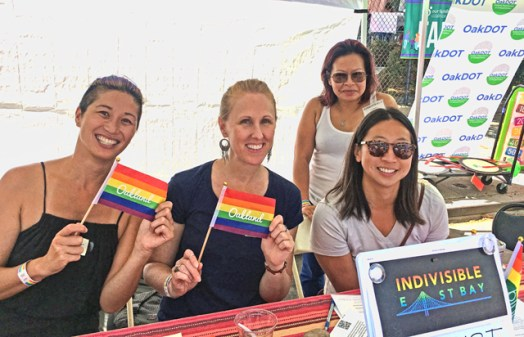 IEB table at Oakland Pride