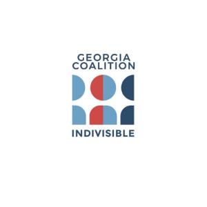 Georgia Coalition Indivisible logo 4L-500x500