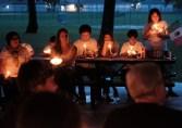 Vigilia for las Familias Unidas (Vigil for United Families) held at Drew Park, Jacksonville. June 30, 2018.