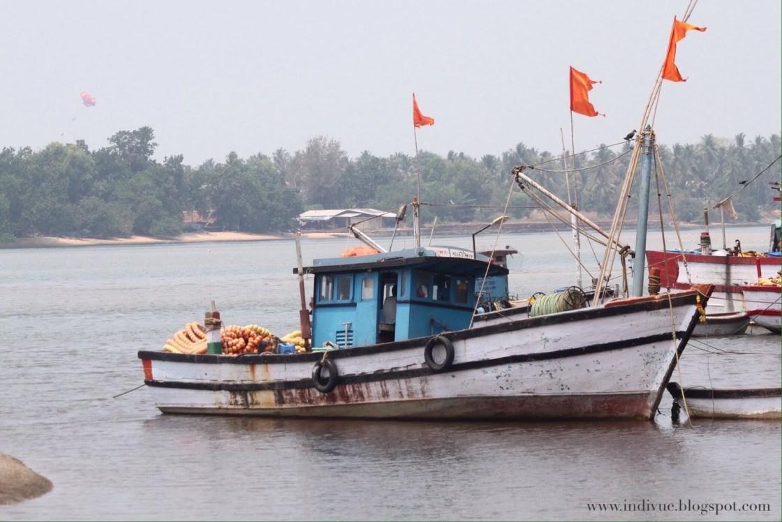 Betul Beach, Etelä-Goa, Intia