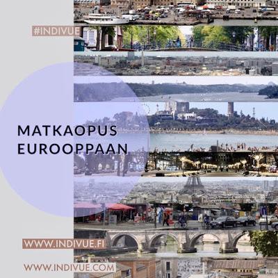 Matkaopus Eurooppaan teoksen kansikuva